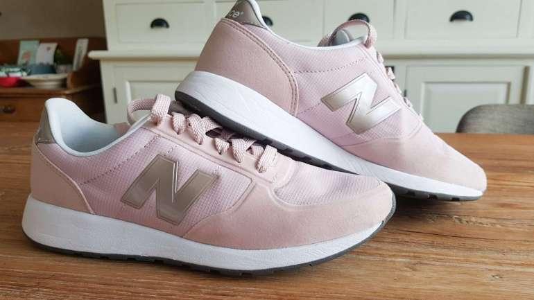 roze sneakers new balance bregblogt.nl footway