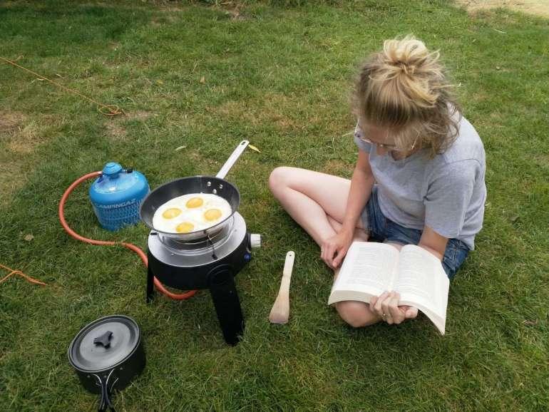 Lezen en lunch maken bregblogt.nl