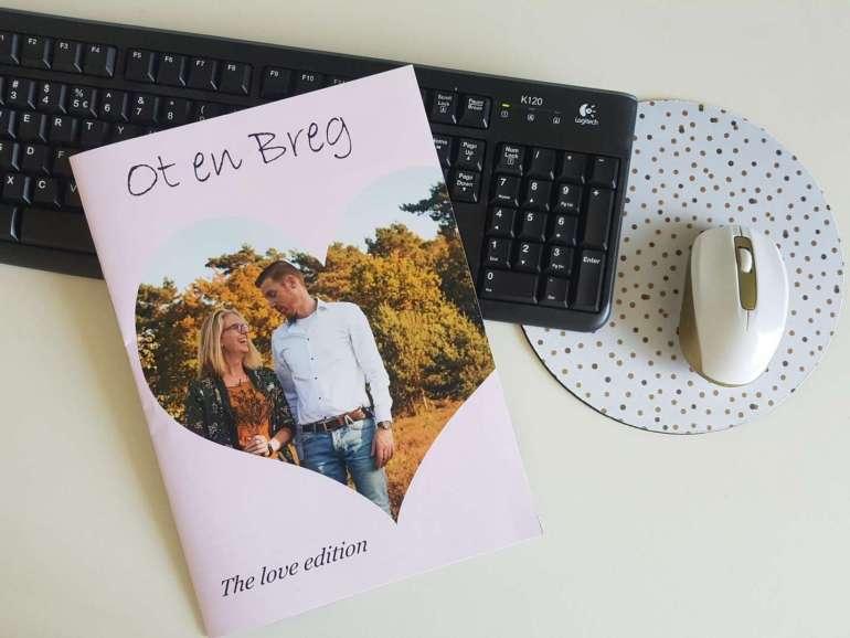 Eigen tijdschrift ontwerpen flatlay Het Fotoalbum bregblogt.nl