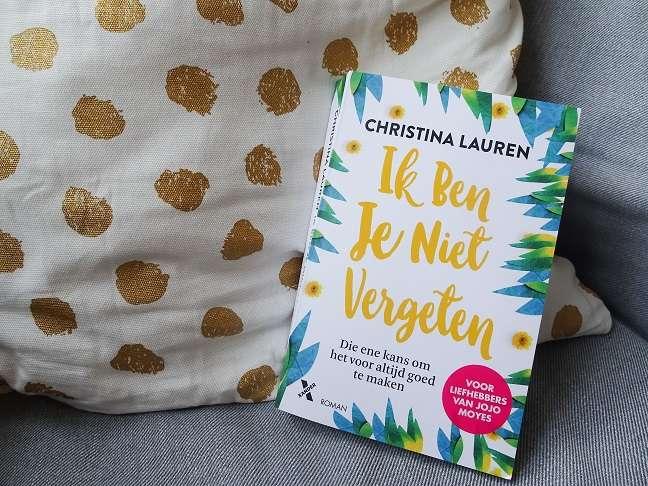 Ik ben je niet vergeten Christina Lauren bregblogt.nl