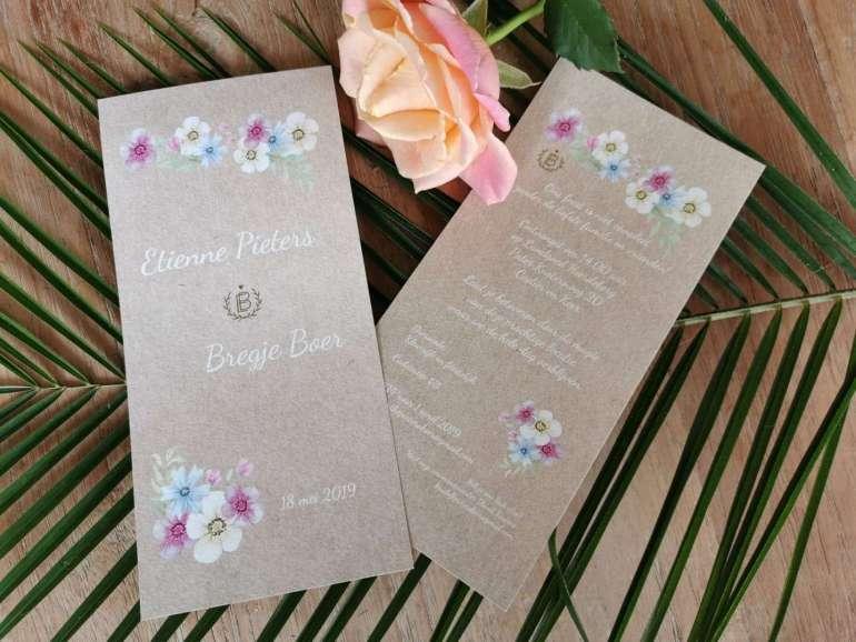 trouwkaarten kaartje2go bregblogt.nl uitnodiging bruiloft inspiratie wedding invitations bregblogt.nl