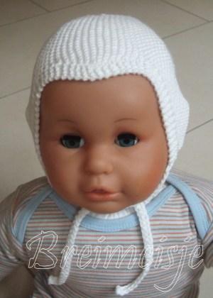 Patroon babymutsje breien