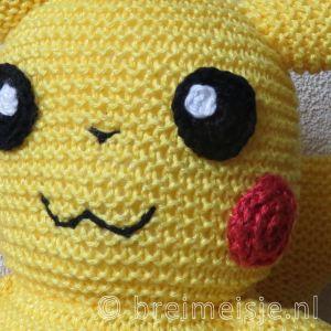 Pikachu breipatroon