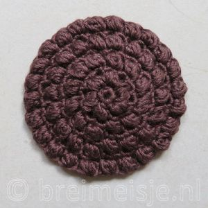 Puff Stitch Haken In 10 Stappen Patroon Breimeisje