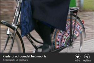 Gehaakt fietsnet Staphorst