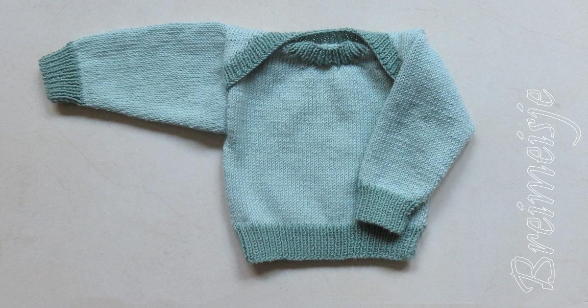 Babytruitje Breien Een Uniek Patroon Van Breimeisje