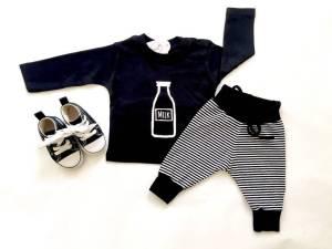 Babykleding zwart wit SuzyB