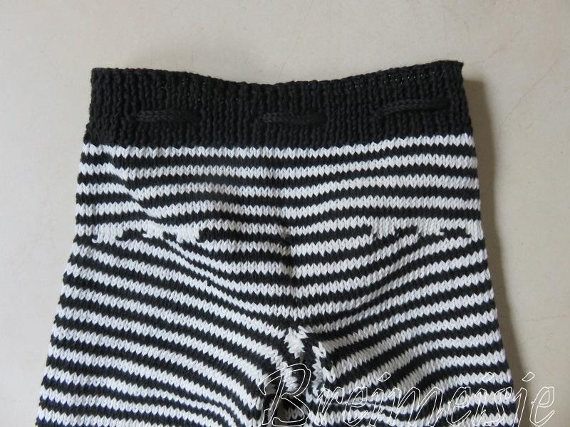 Zwart Wit Breien Voor Een Baby Kijk Hoe Leuk Patroon Van Breimeisjenl