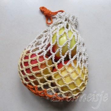 Fruitnetje haken patroon