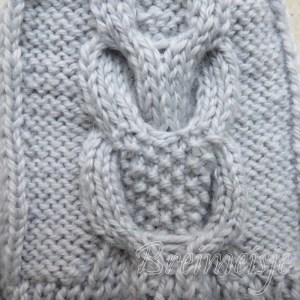 Uil breien patroon