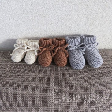 Babysokjes breien patroon