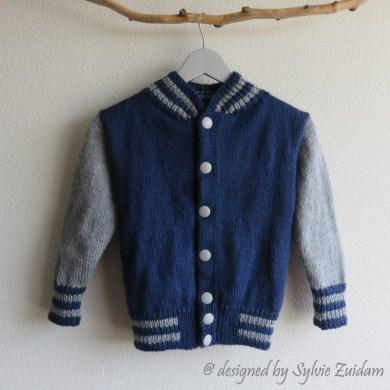 Letterman jacket child 7-8 years