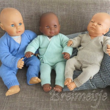 Babykleertjes breien patronen