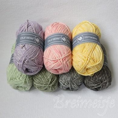 Durable Cosy Fine Faded kleuren