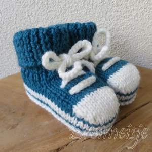 Sportschoentjes breien baby 3 maanden