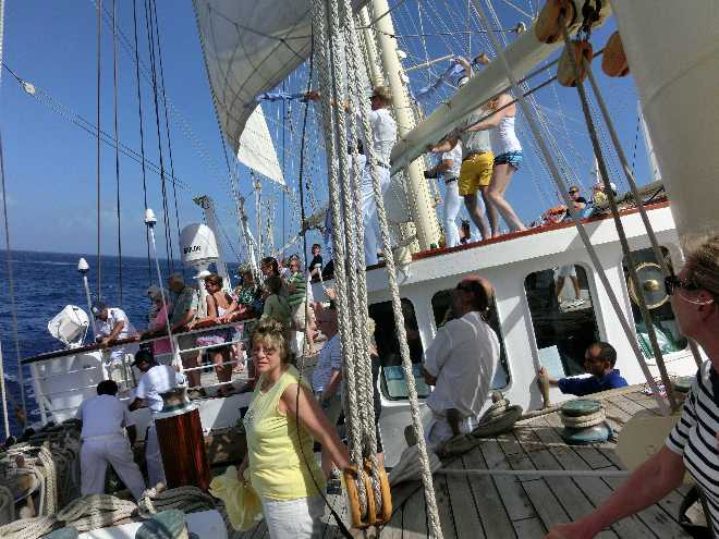 Tag 2 auf der Kreuzfahrt mit der Starclippe durch die Karibik 2