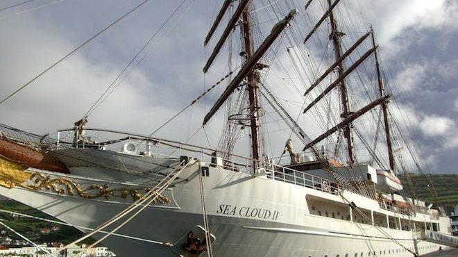 Sea Cloud 2 im Hafen