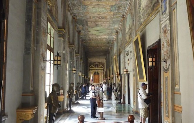 Flur Grand Master's Palace auf Malta