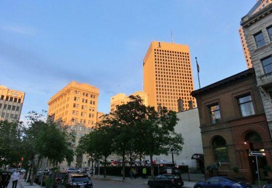 Wolkenkratzer in Winnipeg