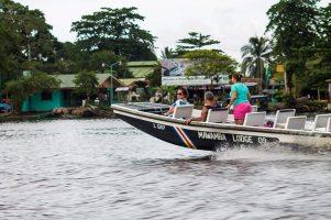 Costa Rica - Tortuguero Nationalpark Boot Taxi