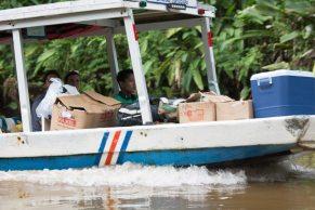 Costa Rica - Tortuguero Nationalpark - Boot