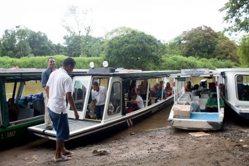 Costa Rica - Tortuguero Nationalpark - La Pavona Einstieg