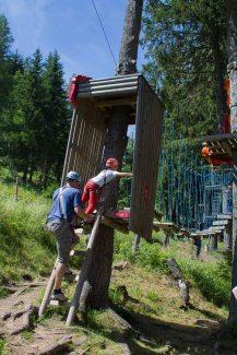 Spaß für Groß und Klein im Kletterpark am Katschberg - Familienurlaub Österreich