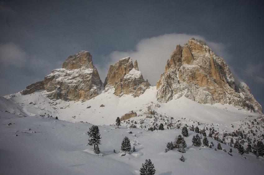 Deutschland, Österreich und Italien – Skiurlaub im Februar