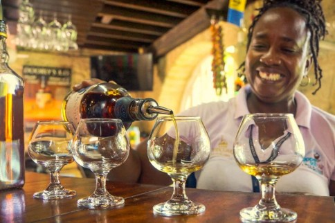 Rum-Degustation, Foto Martin Cyris