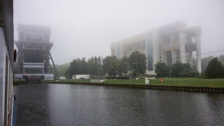 Flusskreuzfahrt Oder - Liane Ehlers - 31 Schiffshebewerk