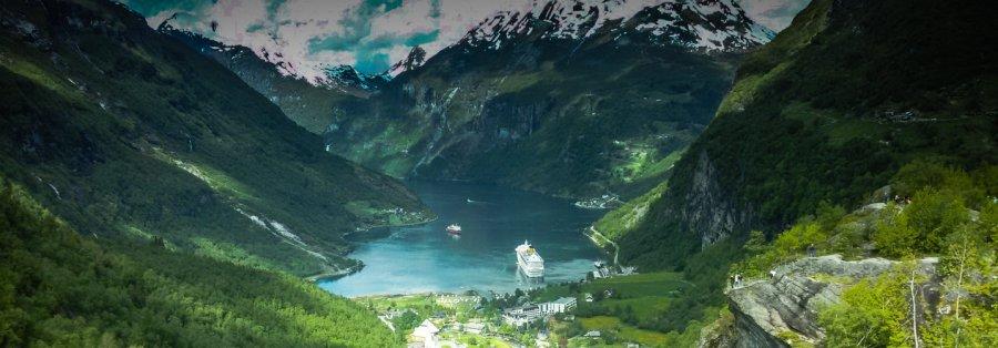 Kreuzfahrt mit der Costa Magica - Liane Ehlers - 01 Titel Geirangerfjord