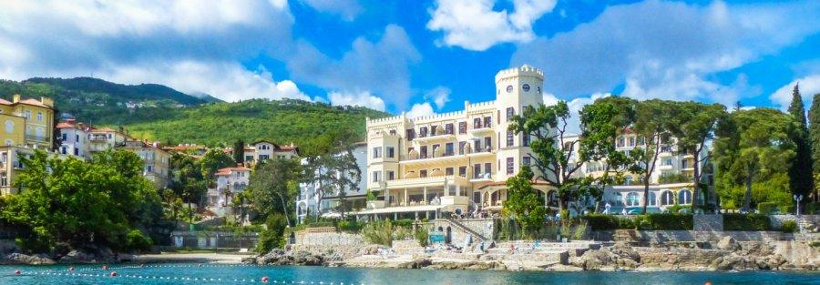 Opatija 01 Titelbild Villa Neptun - Liane Ehlers-Opatija-Kroatien