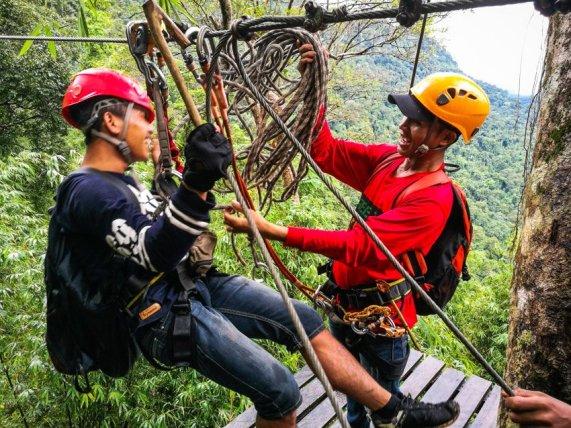 Ziplining in Laos - Jörg Baldin (3 von 15)