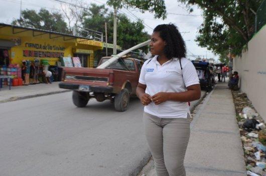 Lucia in ihrer Gemeinde