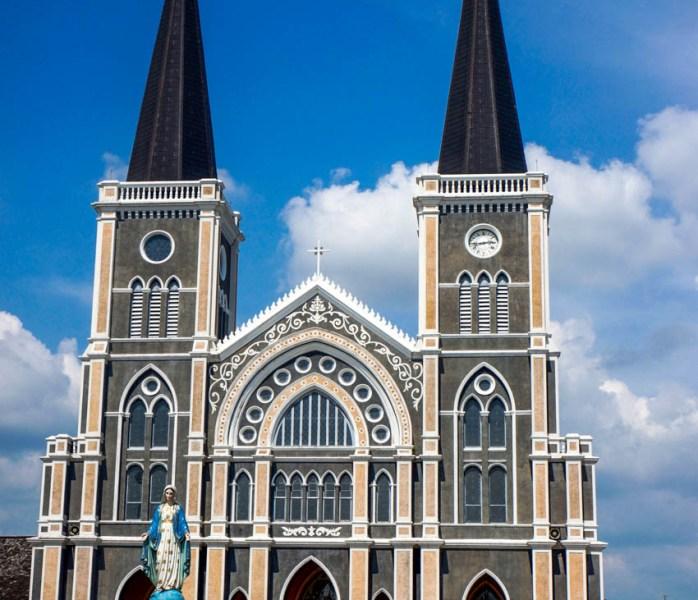 Urlaub in Thailand - Katholische Kirche Chanthaburi, Foto Martin Cyris