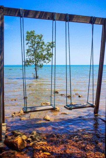 Urlaub in Thailand - Strand südlich von Chanthaburi, Foto Martin Cyris
