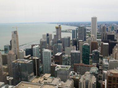 Blick vom Hancock Tower. Bild: Geiselhart