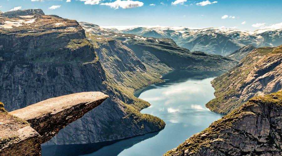 Urlaub im April - Norwegen