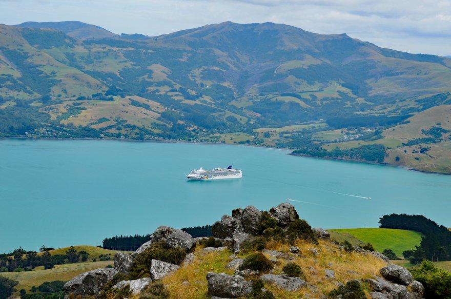 Kreuzfahrt Norwegian Jewel Neuseeland - 10-Susanne-Mueller-Akaroamit Jewel-Breitengrad53-Reiseblog