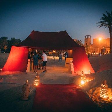Dubai Wüstencamp
