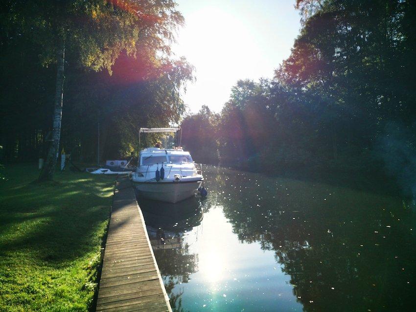Urlaub mit dem Hausboot Fleesensee