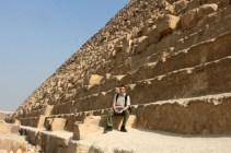 Die Pyramiden in Ägypten haben mich besonders beeindruckt
