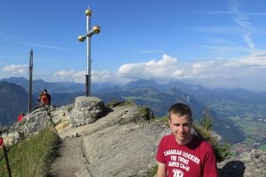 Ein Gipfel ist immer etwas Besonderes. Hier bin ich auf dem Kranzhorn
