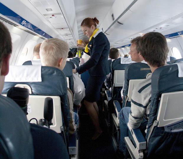 Eng, aber mit Spaß verbunden - Fliegen in einer Saab 340.