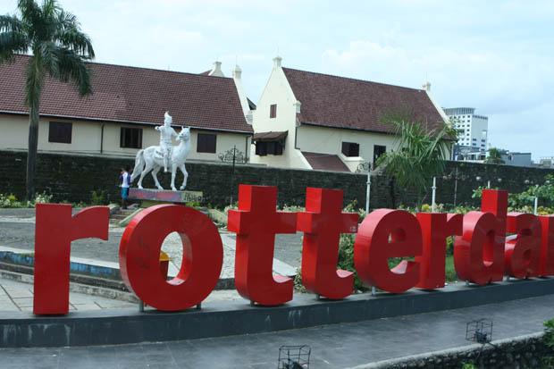 Kann man sich anschauen, muss man aber nicht - Fort Rotterdam.