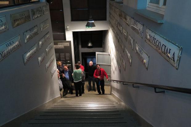 Filmfans dürfte dieses Treppenhaus sehr bekannt vorkommen