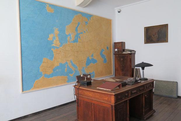 Einer der Orte, an denen Schindlers Listen erstellt wurden