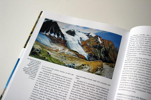 Auch eine Geschichte über den Berg-Maler Nino Malfatti fand Einzug ins Buch.