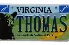 Aus Virginia bekam ich dieses Schild mit meinem Namen