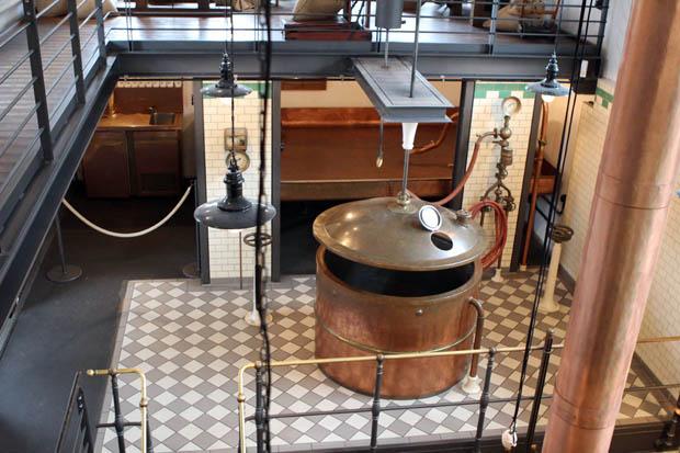 Sogar eine historische Brauerei befindet sich auf dem Gelände des Museums